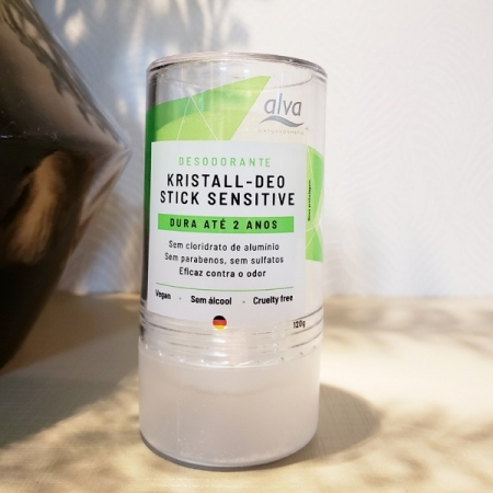 Desodorante em pedra Alva 120g - Arte da Cosmética