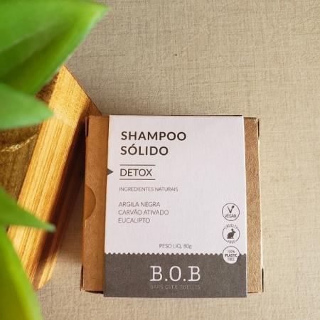 Shampoo sólido detox vegano - ARTE DA COSMÉTICA
