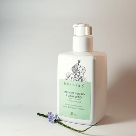 Sabonete líquido lippia alba - Herbia - Arte da Cosmética