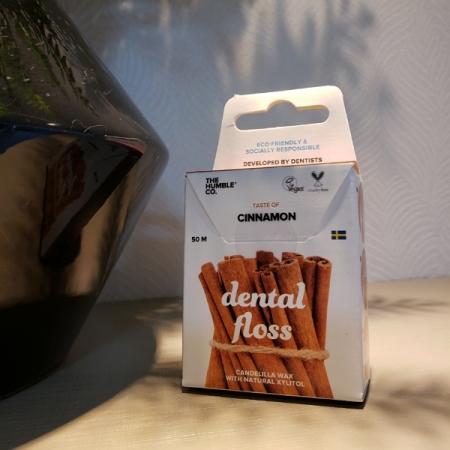 Fio dental vegano - The Humble Co. - ARTE DA COSMÉTICA