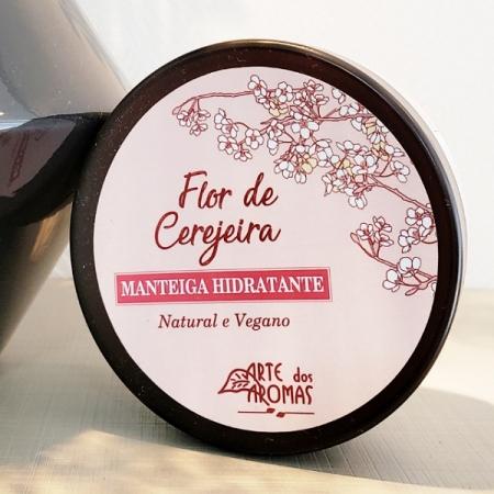 Manteiga hidratante flor de cerejeira - ARTE DA COSMÉTICA