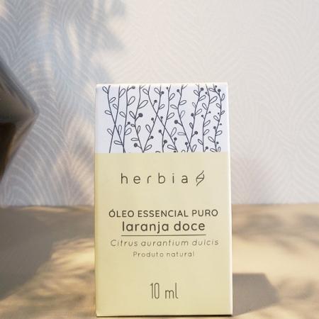 Óleo essencial de laranja doce - Herbia - Arte da Cosmética