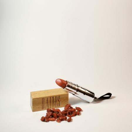 Batom lipstick red jad orgânico - Baims - Arte da Cosmética