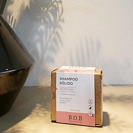 Shampoo sólido vegano nutritivo - ARTE DA COSMÉTICA