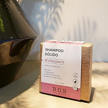 Shampoo sólido vegano revitalizante - ARTE DA COSMÉTICA