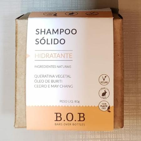 Shampoo sólido vegano hidratante- ARTE DA COSMÉTICA